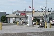 Dave Moore Fuels Ltd. Petro Canada location and pumps
